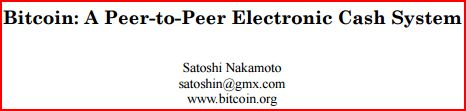 Bitcoin White Paper By Satoshi Nakamoto …Read Full Article