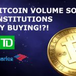 Institutions are buying Bitcoin don't listen to what they say but listen to what they do.